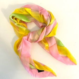 Escada Silk Scarf Made In France, 🌟Rare